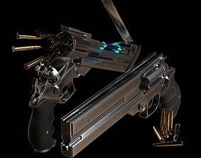 3D asset AGL Arms 45 Long Colt