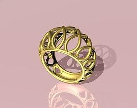 Beautiful ring bombe - Anel bombe -bolha 3D print model