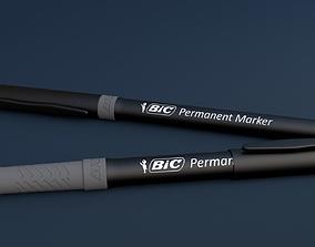 3D model Bic marker
