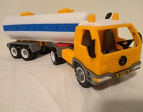 Semi truck toy - fully 3D printable - assembly