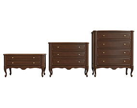 Chest Of Drawers A 06 3D