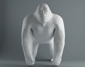 Gorilla gorilla 3D printable model