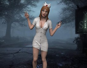 3D print model Silent hill Nurse before