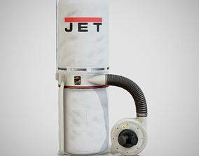 3D asset Sawdust Collector - JET 01 Clean