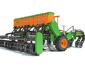 Seed Drill Stara 3D model