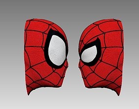 Spiderman Head Magnet Keychan 3D print model