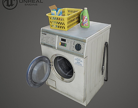 Washer 3D model