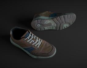 Pair of Sneakers 3D model realtime
