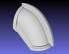 Star Wars Mandalorian Chrome Armor Shoulderpiece 1