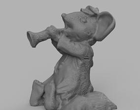 Souris trompette 3D printable model