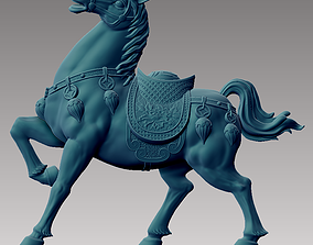 antique 3D printable model Horse
