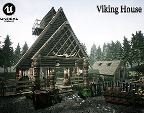 3D asset Viking House UNREAL ENGINE