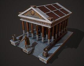 3D model Temple Mars