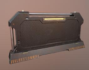 3D model Sci-fi Barrier