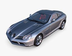 3D Mercedes-Benz SLR McLaren