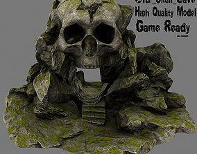 3D model realtime Skull Cave steps