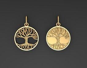 3D printable model Pendants Tree of Life