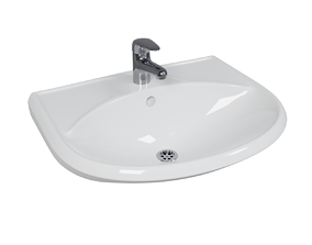 porcelain 3D Bathroom Sink