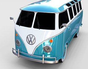VW Bus Mk 1 rev 3D model