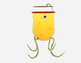 3D asset Pitcher Plant Monster