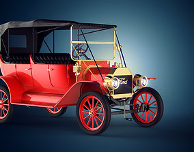 3D model Ford T 1927