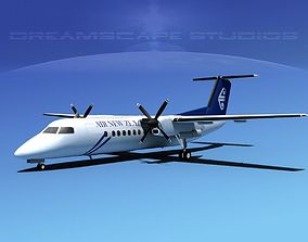DeHavilland DHC-8-Q300 Air New Zealand 3D model