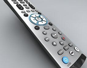 3D model Realistic TV Remote control