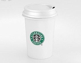 Coffee Cup 3D model starbucks