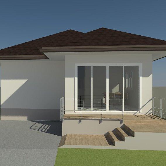 Single house by REVIT
