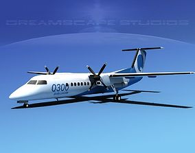 Dehavilland DHC-8 300 3D model
