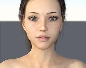 3D Linda Merelyn For Genesis 2 and 8