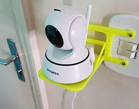Indoor Surveillance Camera CCTV Support 3D print model