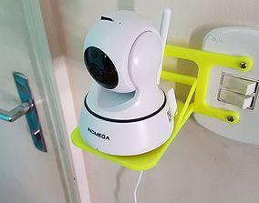 Indoor Surveillance Camera CCTV Support 3D print model