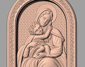 Christianity Jesus Christ Virgin Mary CNC 3
