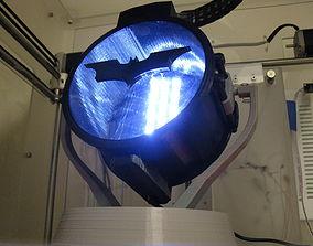 Desktop Carbon Arc Searchlight 3D print model