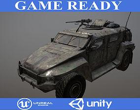 Hawkei 3D model