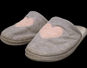 3D model Bedroom Slippers