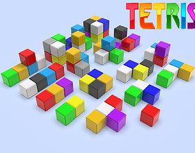 Tetris constructor set 3D model for 3D printing