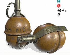 RGD-5 Grenade 3D asset
