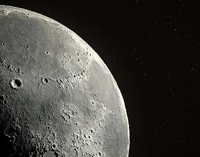 3D model Moon Scene