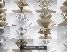 3D Platonic Sculptures