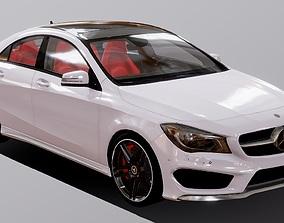 VR / AR ready Auto Mercedes Benz CLA 250 3D Model