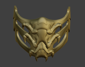 3D printable model Scorpion mask for face from Mortal 5