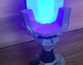 Blue flame pedestal from Zelda Breath of 3D print model 1