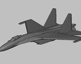 3D print model SU 35