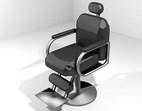 3D model Barber Equipment - Chair