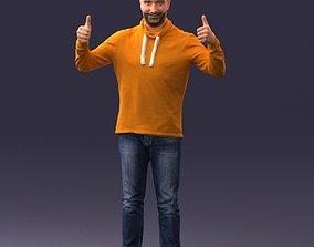 Happy man 1019 3D Print Ready