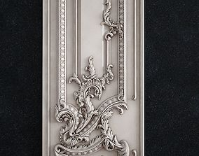Door baroque 3d 3D print model