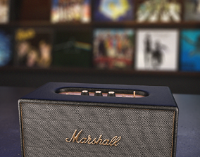 3D Marshall Speaker STANMORE Bluetooth
