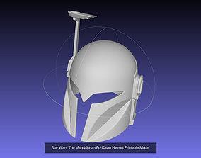 3D Star Wars Bo Katan Printable Armor Collection